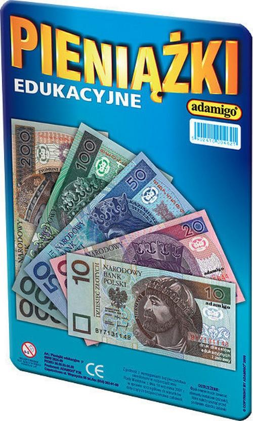 Pieniążki edukacyjne. Złote