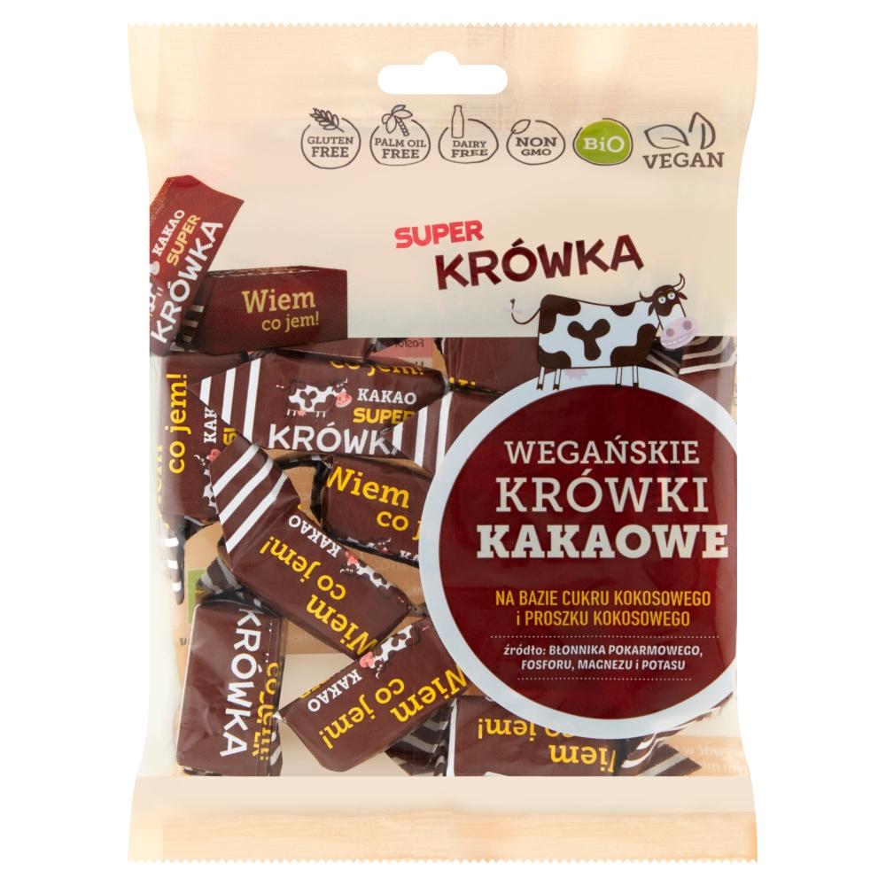 Krówki bezmleczne kakaowe