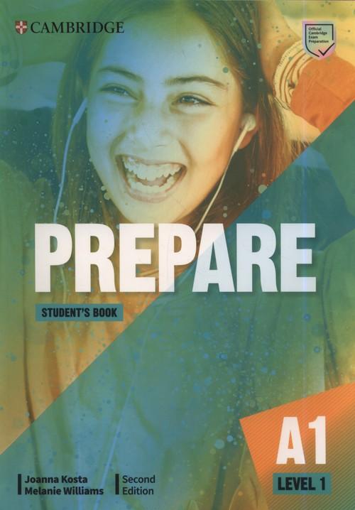Prepare A1. Student`s Book. Second Edition. Podręcznik do języka angielskiego
