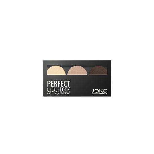 Make-Up Perfect Your Look Eye Shadows cienie do powiek trio satin 300