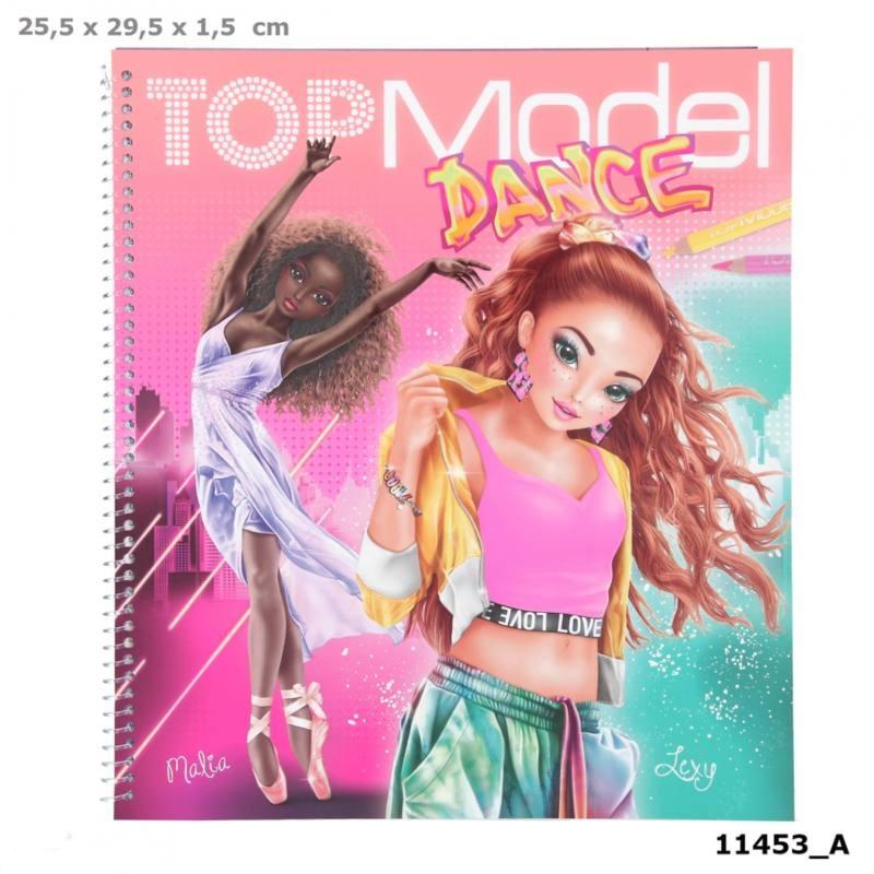 Zestaw kreatywny Dance Top Model 11453A