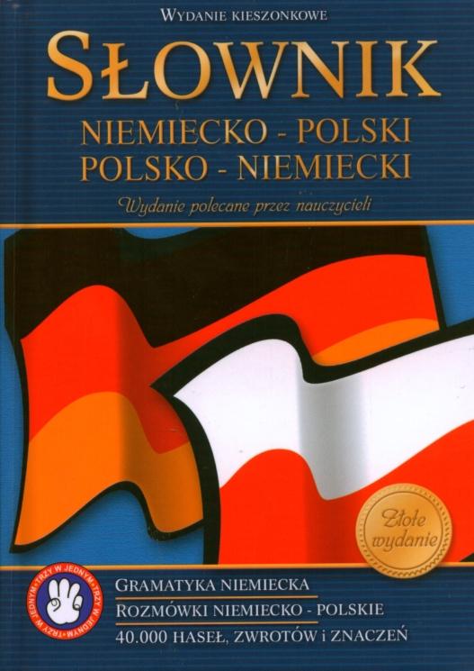 Słownik kieszonkowy: niemiecko-polski polsko-niemiecki