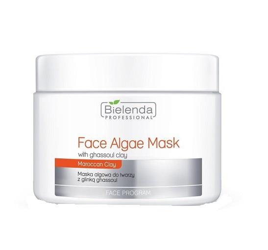 Face Program Face Algae Mask With Ghassoul Clay maska algowa do twarzy z Glinką Ghassoul