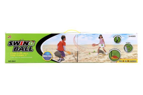 Zestaw do tenisa z piłką na uwięzi
