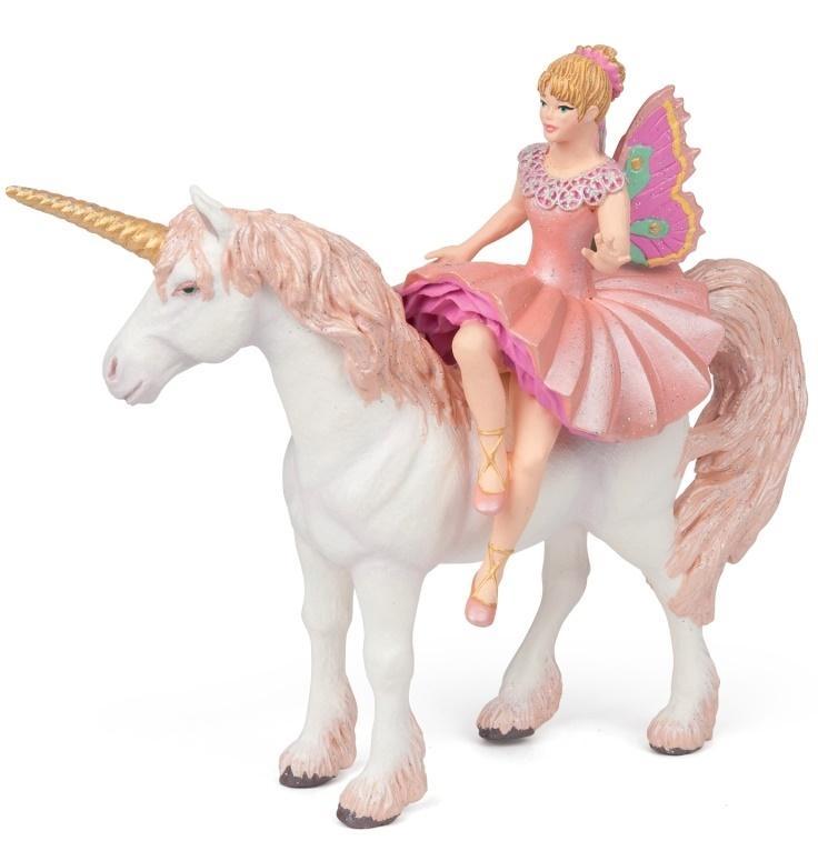 Elf ballerina i jej jednorożec