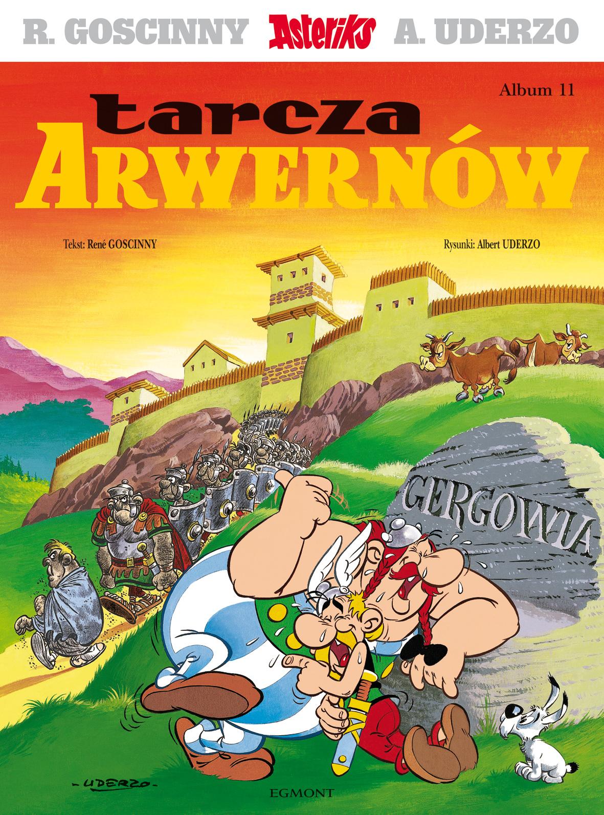 Tarcza Arwernów. Asteriks. Album 11