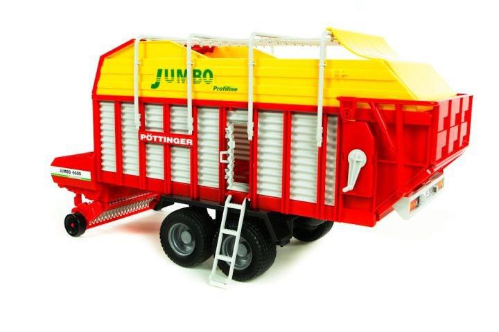 Przyczepa samozbierająca Pttinger Jumbo 6600