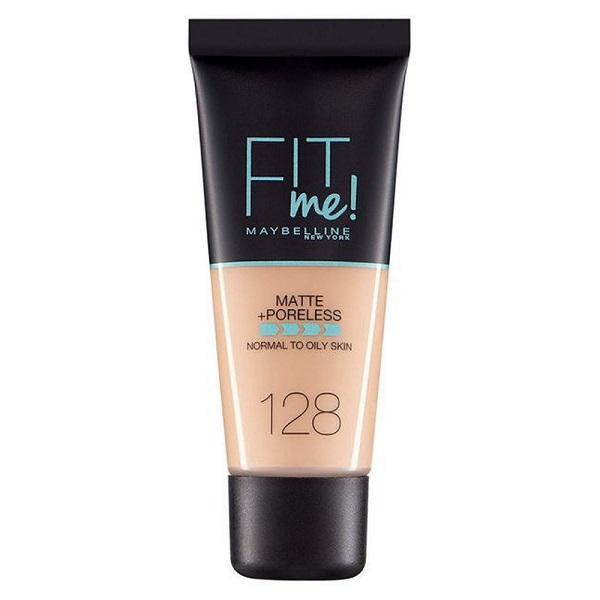 Podkład matujący do twarzy 128 Warm Nude Fit Me Matte Poreless