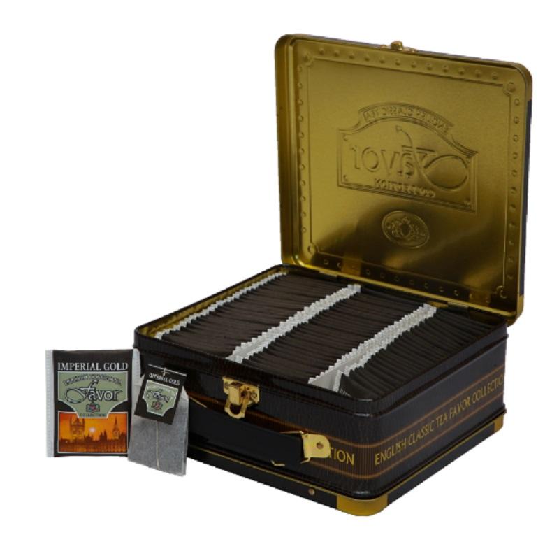 Herbata Black Metal box