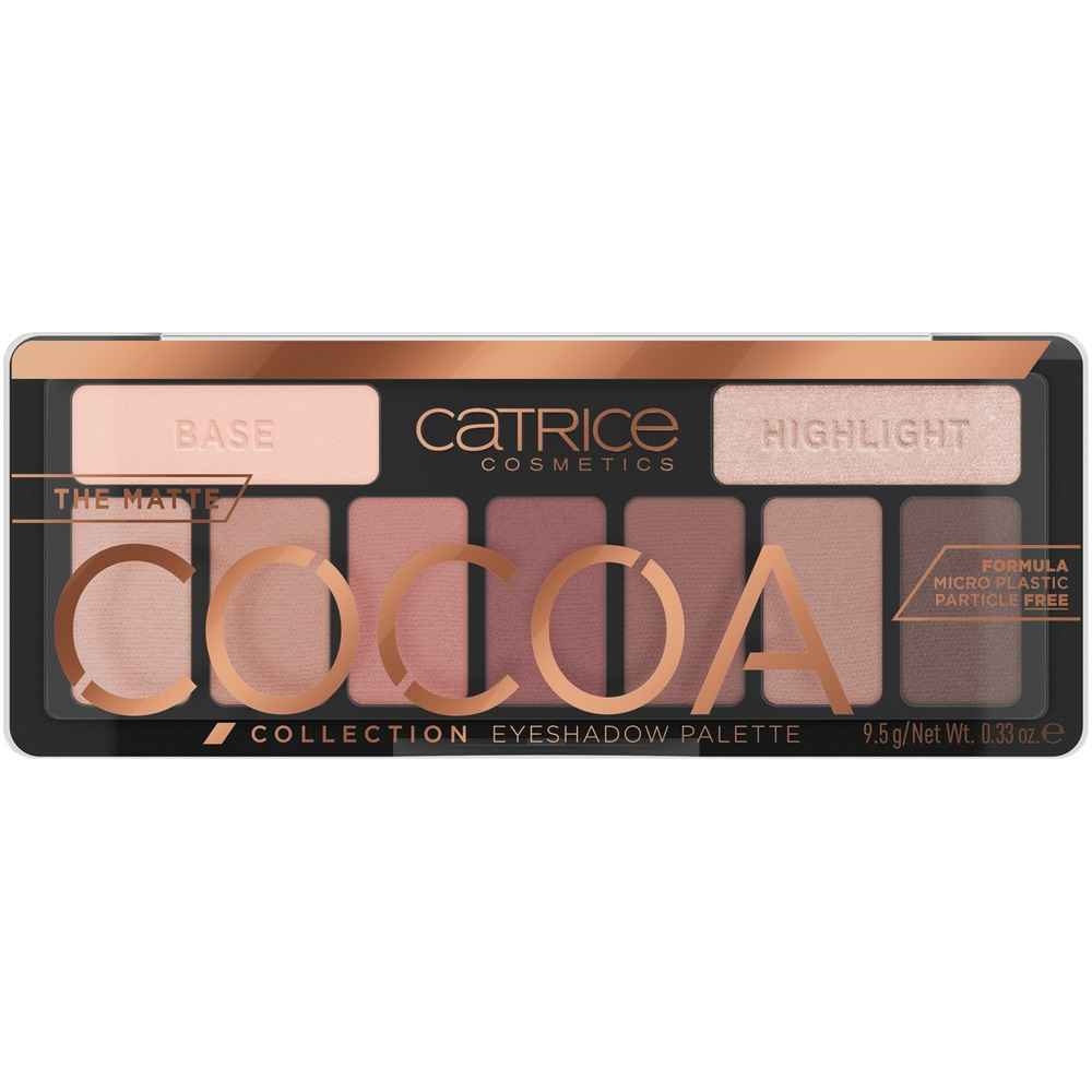 The Matte Cocoa Collection Eyeshadow Palette paleta cieni do powiek 010 Chocolate Lover