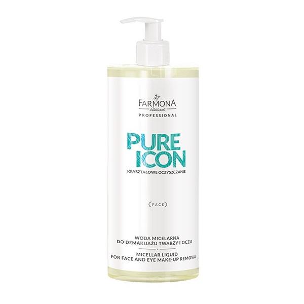 Pure Icon Micellar Liquid For Face And Eye Make-Up Remover woda micelarna do demakijażu twarzy i oczu