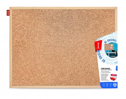 Tablica korkowa  drewniana MTC060040