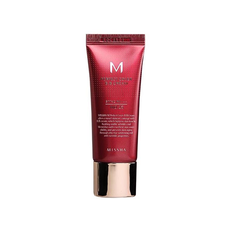MISSHA_M Perfect Cover BB Cream SPF42/PA+++ wielofunkcyjny krem BB No.25 Natural Beige
