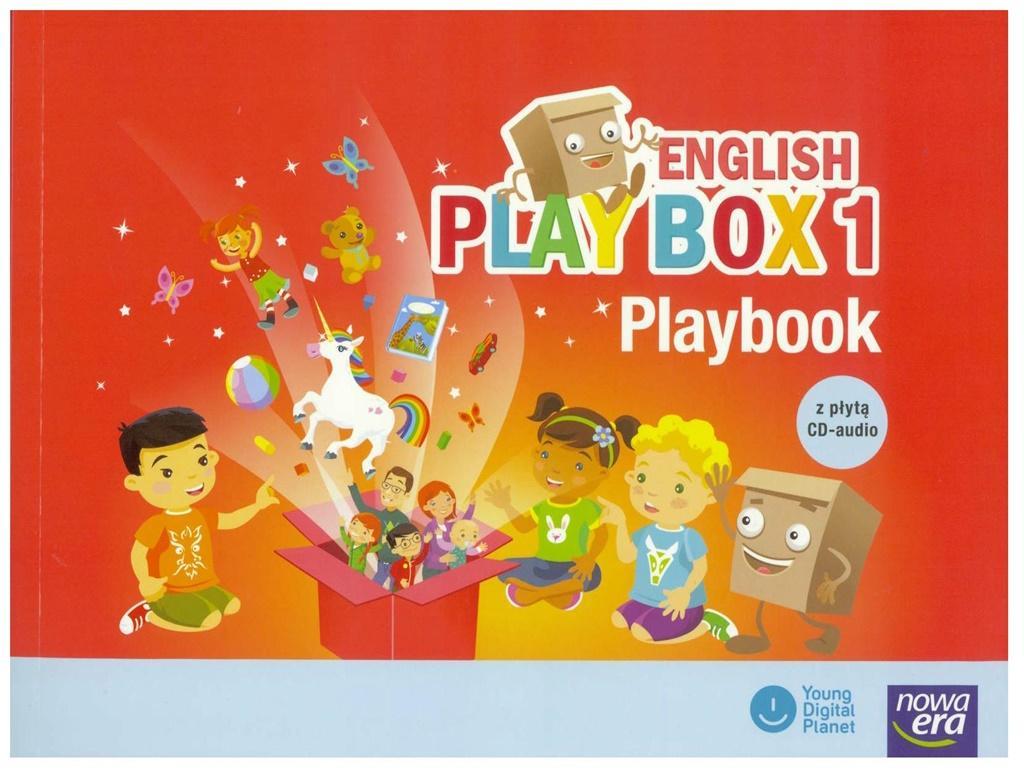English Play Box. Część 1. Playbook z płytą CD-audio