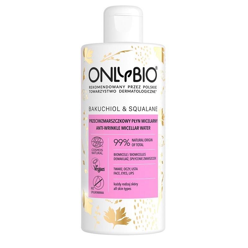 Płyn micelarny przeciwzmarszczkowy Bakuchiol&Squalane Anti-Wrinkle Micellar Water