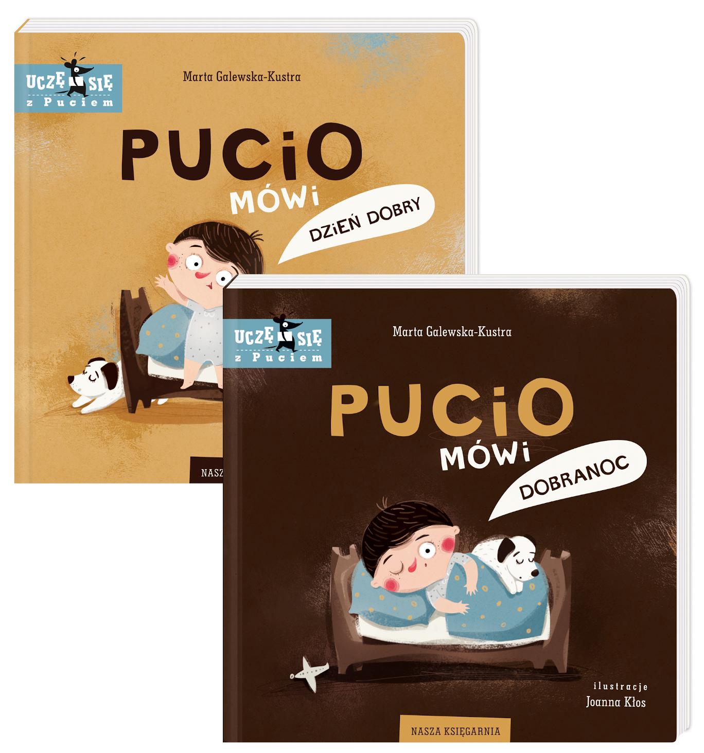 Pakiet Pucio: Pucio mówi dzień dobry, Pucio mówi dobranoc
