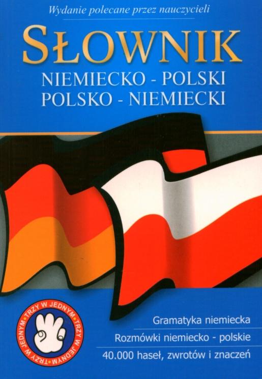 Słownik niemiecko-polski polsko-niemiecki wyd. kieszonkowe
