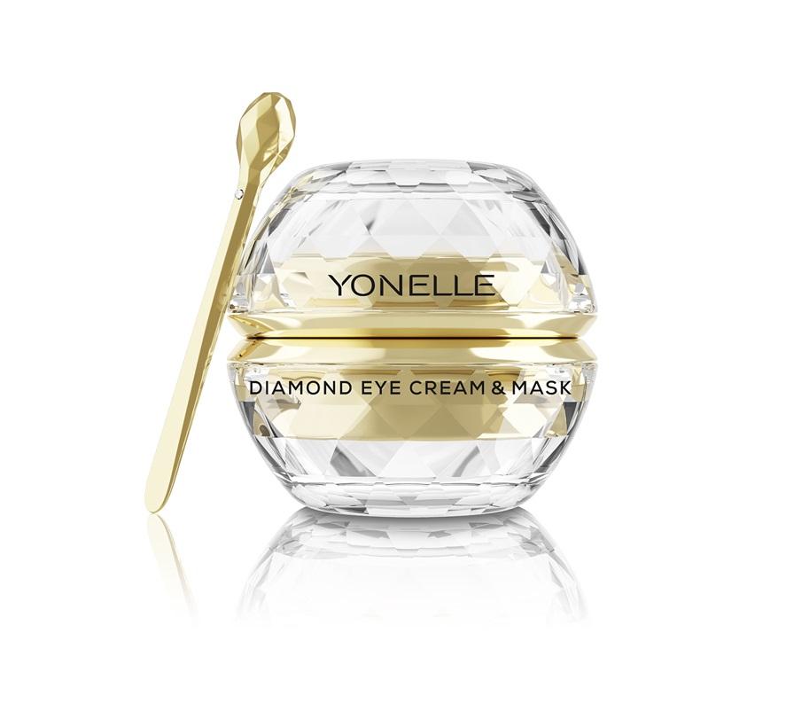 Diamond Eye Cream & Mask diamentowy krem i maska pod oczy i na usta