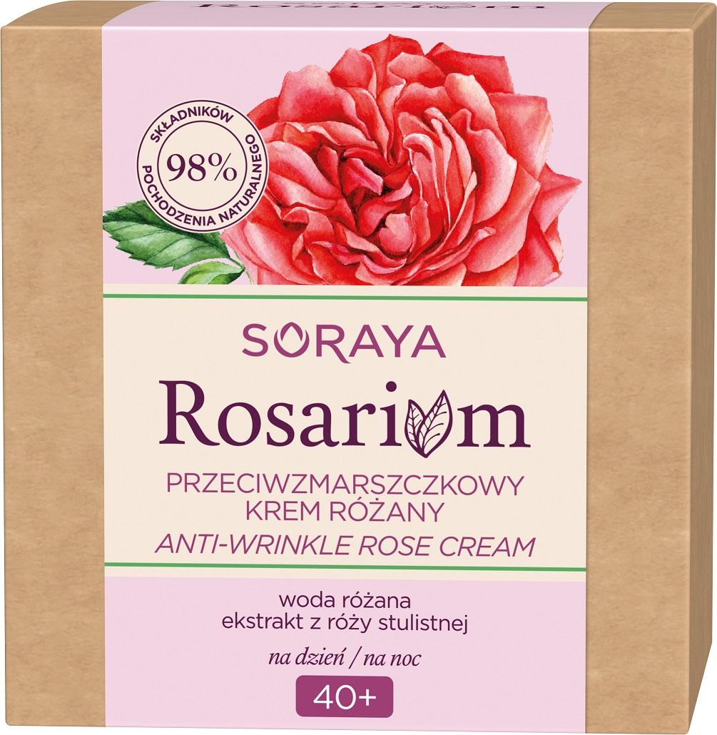 Rosarium Anti-Wrinkle Rose Cream przeciwzmarszczkowy krem do twarzy na dzień/noc 40+ Różany
