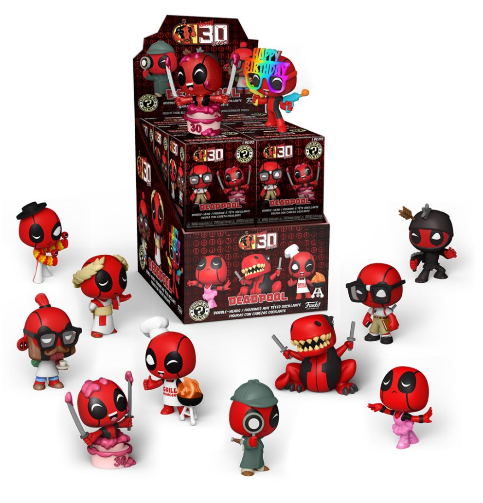 Funko Mystery Minis: Deadpool 30th Anniversary