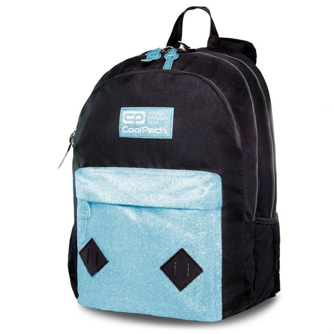 Plecak Hippie Blue Glitter