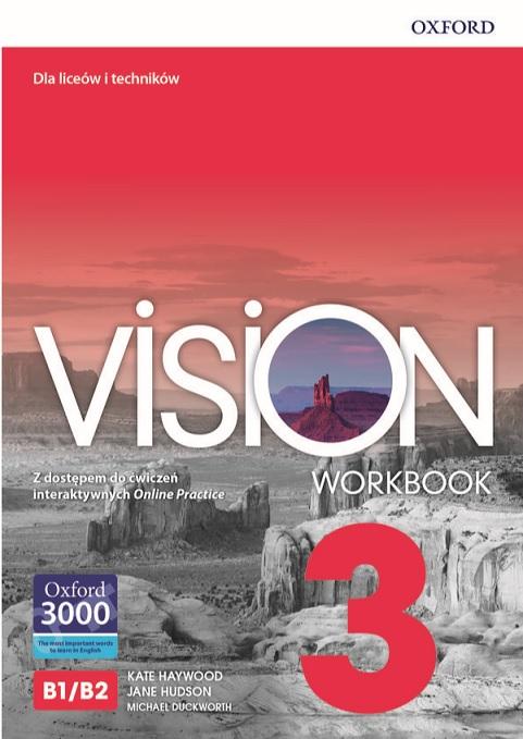 Vision 3 Workbook Online Practice PACK 2020