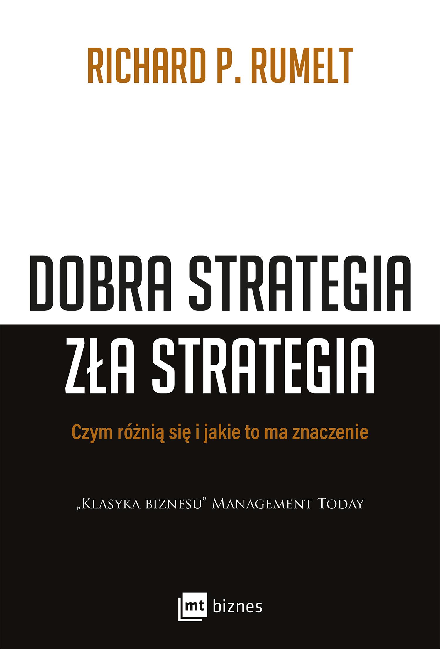 Dobra strategia zła strategia