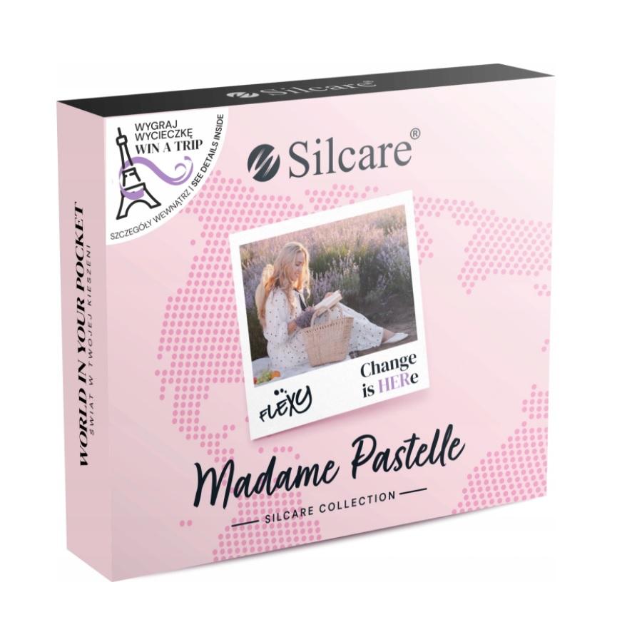 SILCARE_SET Madame Pastelle zestaw lakierów hybrydowych 4x4,