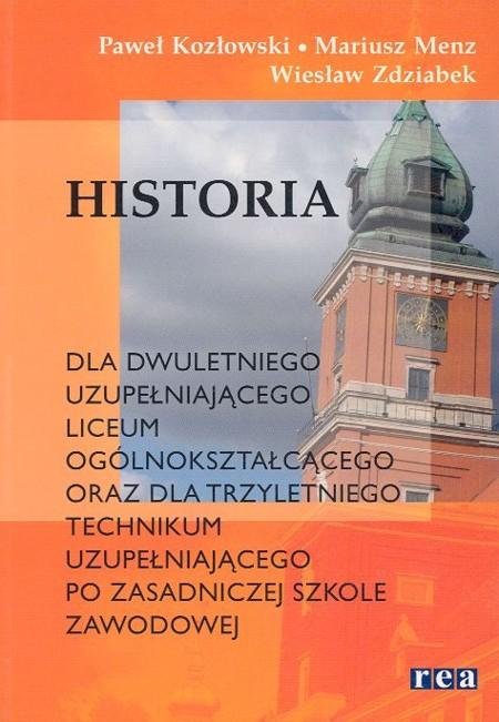 Historia dla LO uzup. po ZSZ REA