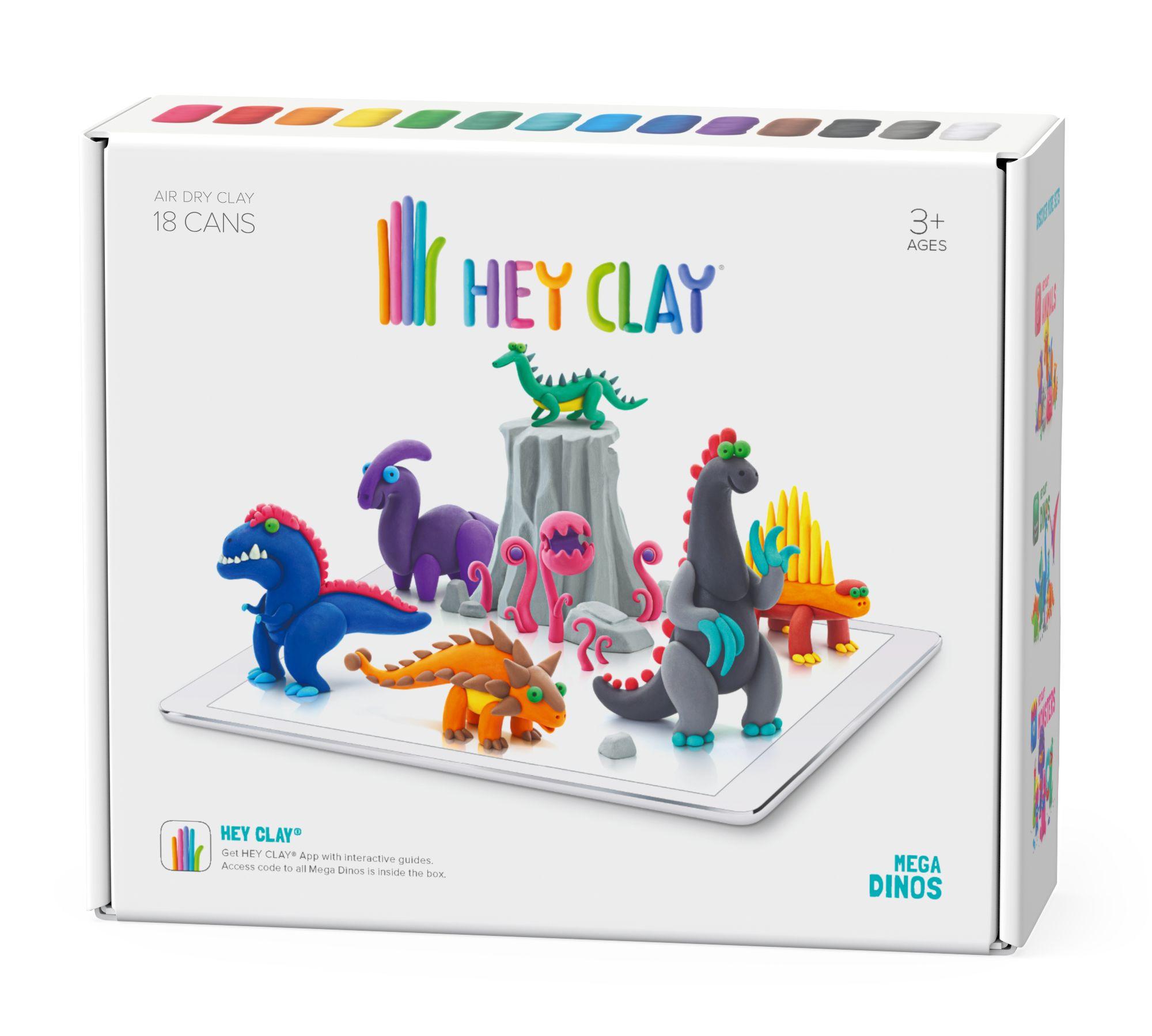 Hey Clay masa plastyczna mega Dinos HCL18006