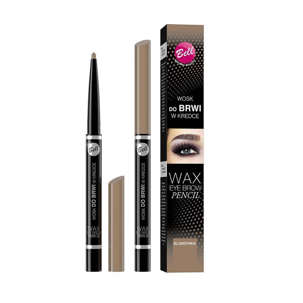 Wax Eyebrow Pencil wosk do brwi w kredce 01 Blondynka