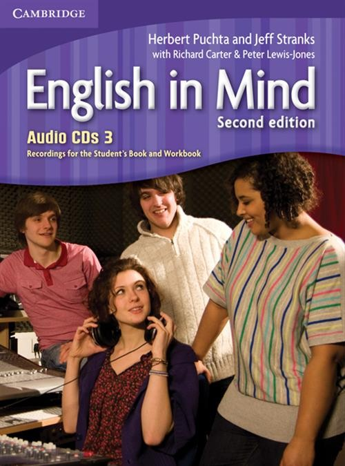 English in Mind 2ed 3 Class Audio CDs (3)