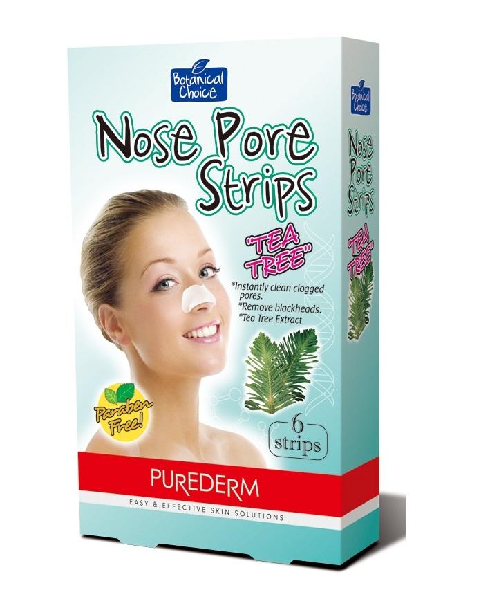 Nose Pore Strips Tea Tree oczyszczające plastry na nos
