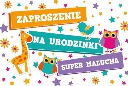 Zaproszenie Urodziny ZA-15 (10szt.)