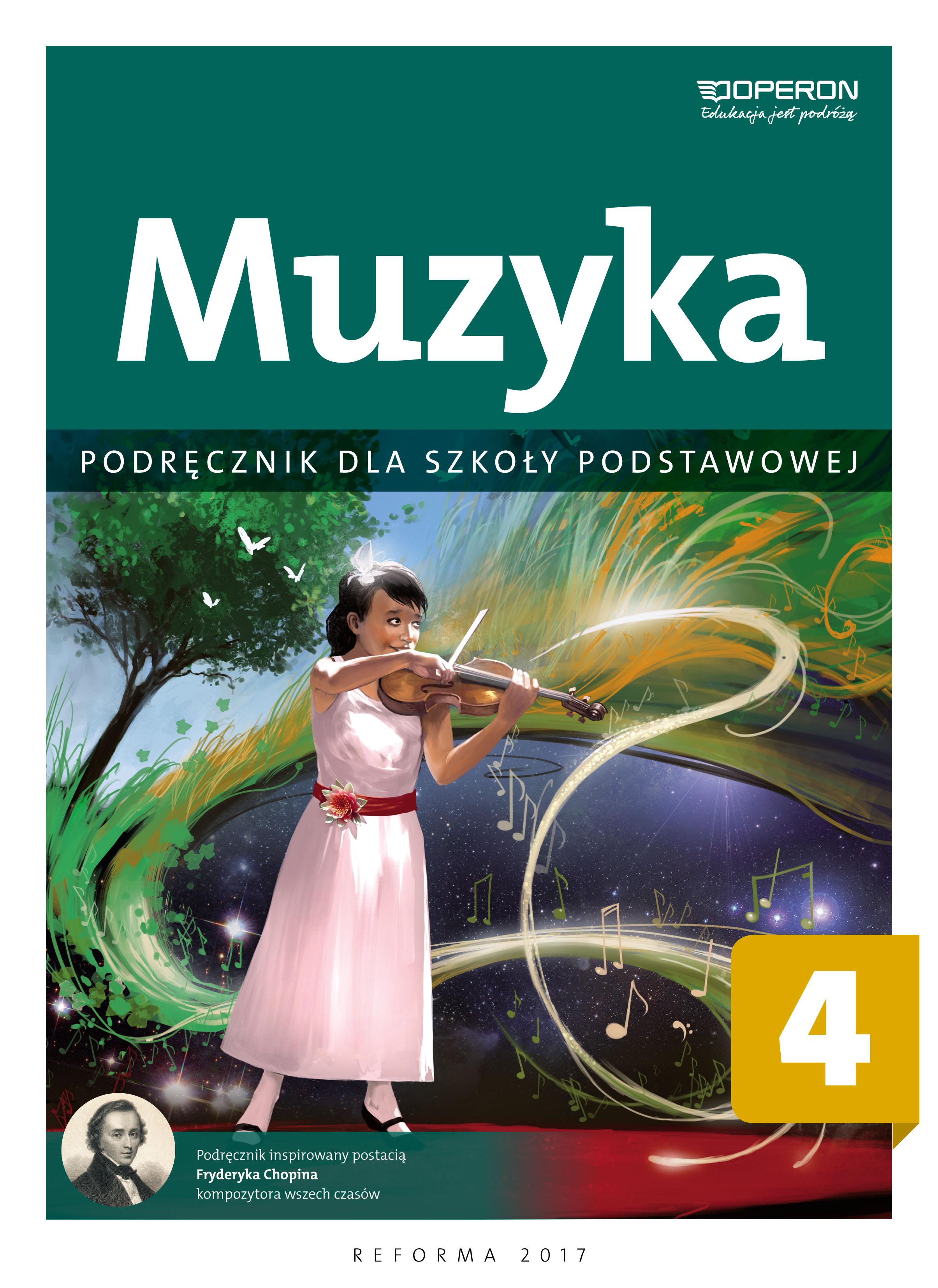 Muzyka 4. Podręcznik dla szkoły podstawowej