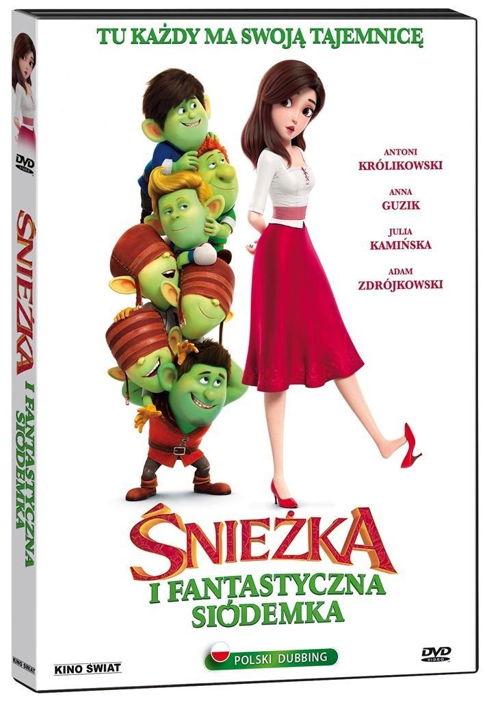 Śnieżka i fantastyczna siódemka DVD
