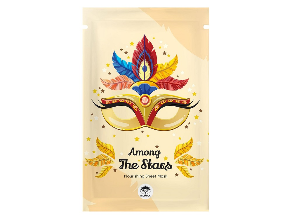 Among The Stars Nourishing Sheet Mask maseczka do twarzy w płachcie odżywcza