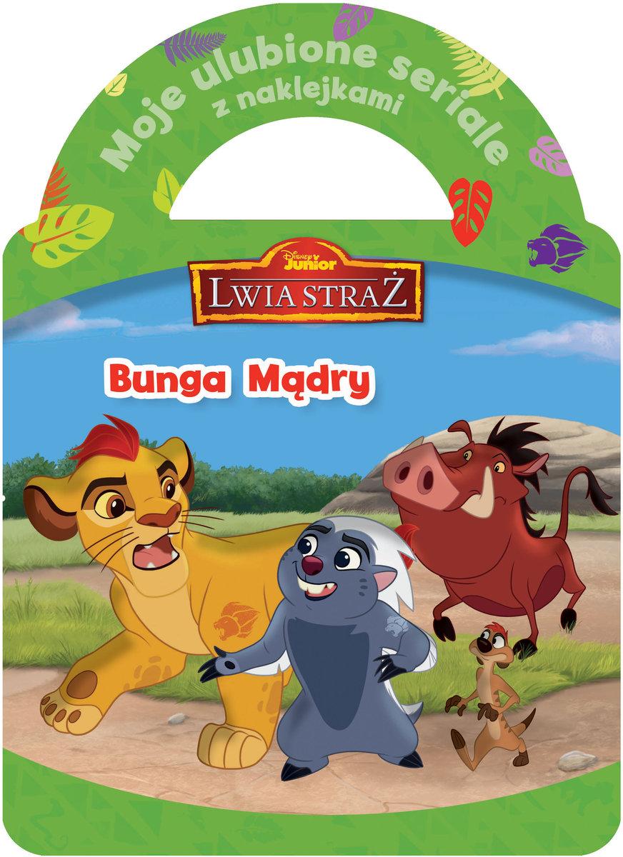 Moje ulubione seriale z naklejkami. Bunga Mądry. Disney Junior Lwia Straż