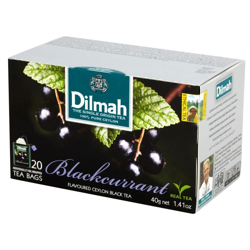 Cejlońska czarna herbata z aromatem czarnej porzeczki