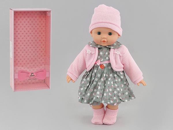 Lalka dziewczynka 40cm z dźwiękiem w pudełku 536814