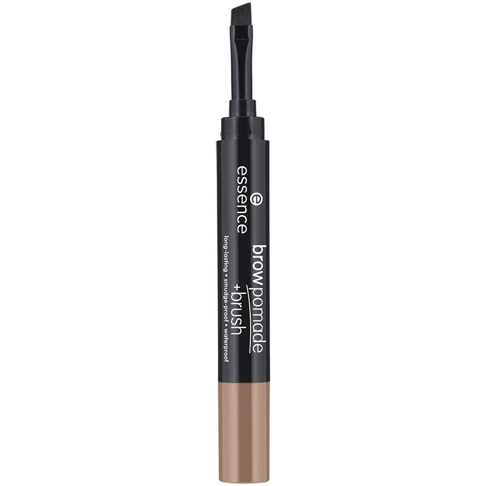 Brown Pomade + Brush zestaw do stylizacji brwi z pędzelkiem 01 Blonde