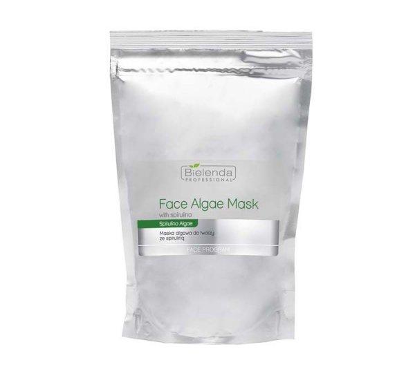 Face Program Face Algae Mask With Spirulina maska algowa do twarzy ze Spiruliną wkład uzupełniający