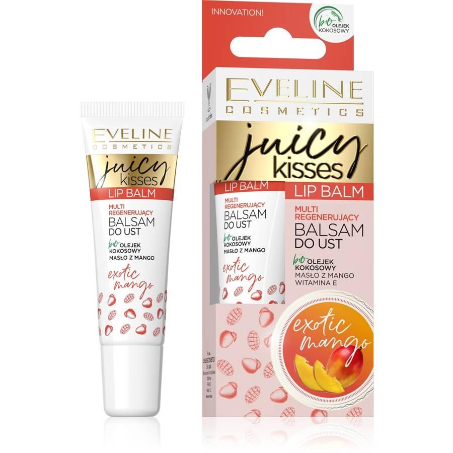 Lip Balm Juicy Kisses regenerujący balsam do ust Exotic Mango 12ml