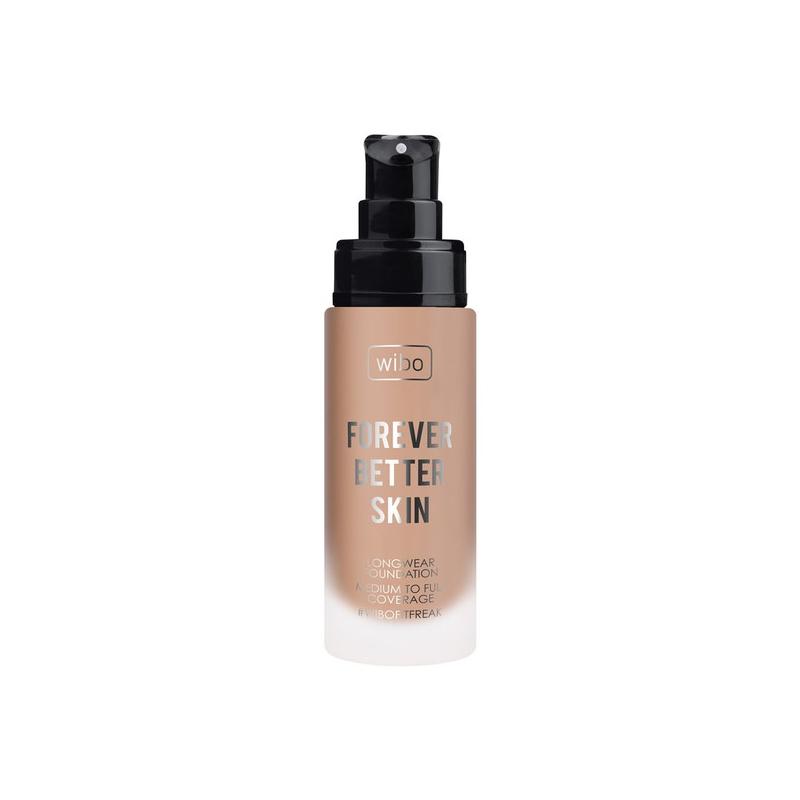 WIBO_Forever Better Skin Foundation długotrwały podkład do twarzy 05 Almond