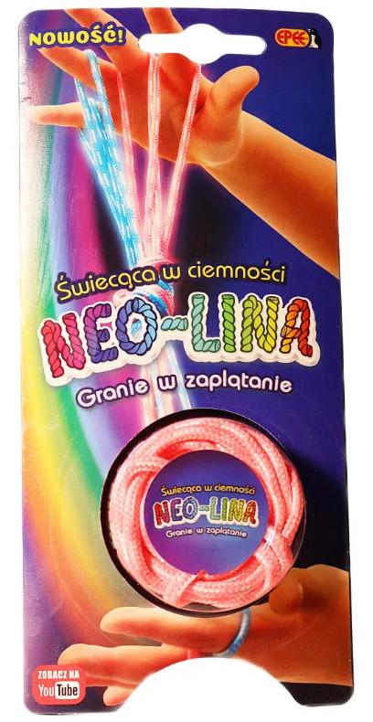 Neolina - świecąca w ciemności różowa 04056