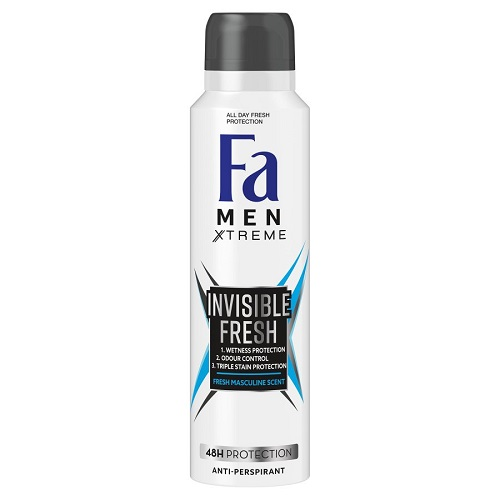 Men Xtreme Invisible Fresh Antiperspirant antyperspirant w sprayu dla mężczyzn