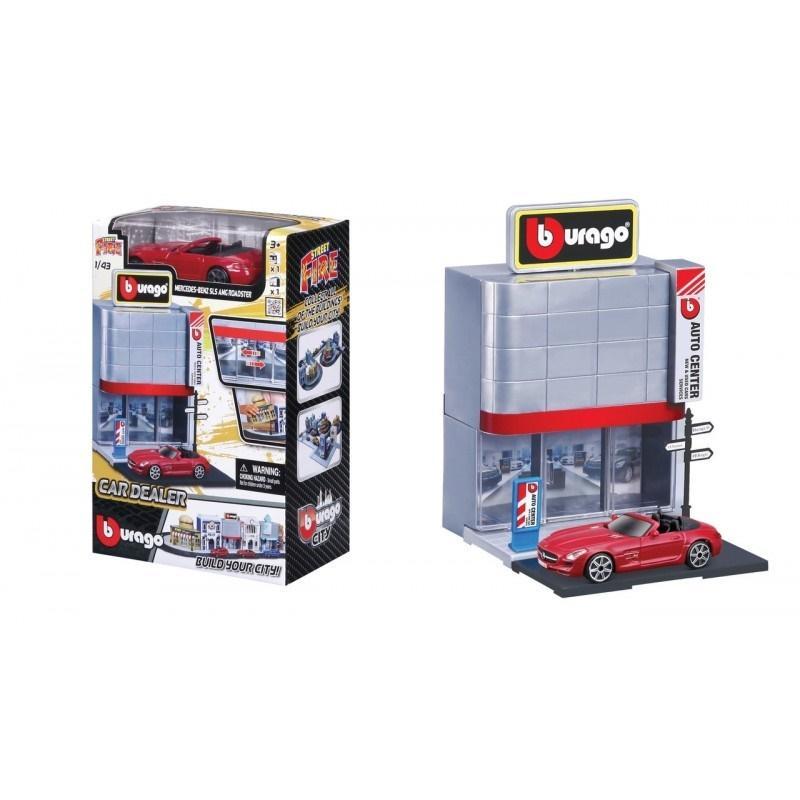 Street Fire Bburago City Car Dealer 1:43 BBURAGO