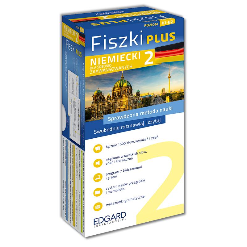 Niemiecki. Fiszki PLUS dla średnio zaawansowanych 2. Poziom B1-B2