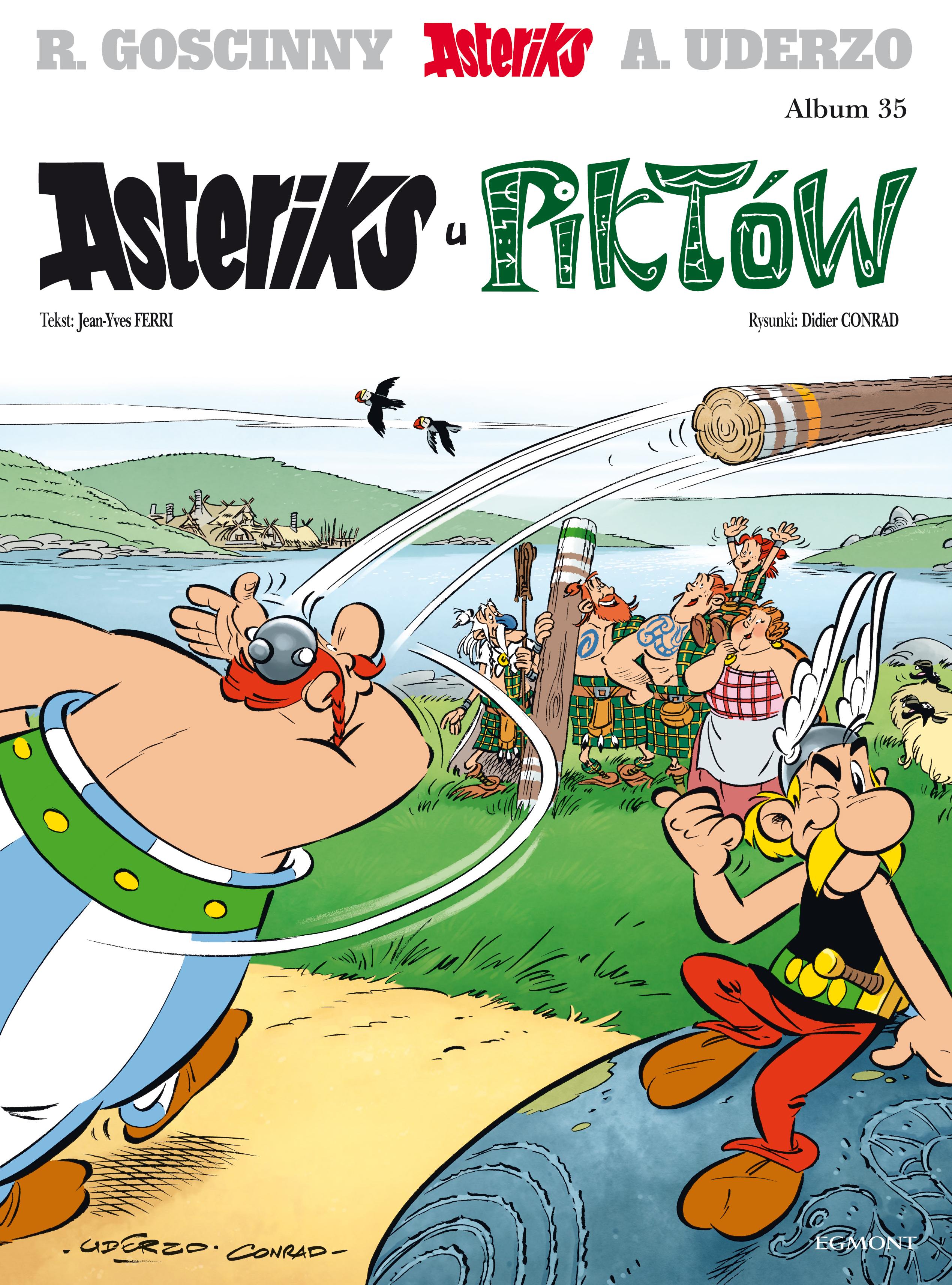 Asteriks u Piktów. Asteriks. Album 35