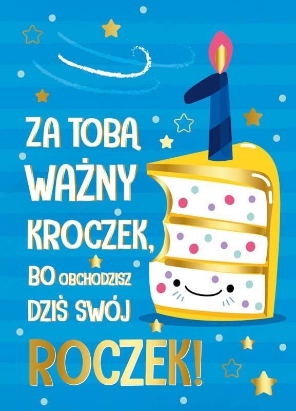 Karnet B6 PR-176 Roczek tort